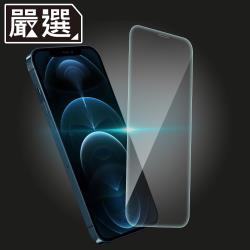 嚴選 iPhone 12 Pro Max 非滿版高透防污鋼化玻璃貼