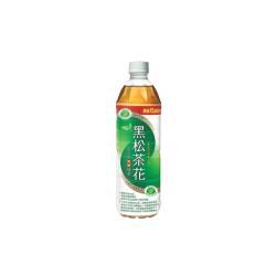 【限時出清】黑松 茶花綠茶  580ml (4入)