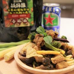 正宗台灣味-塔香鹹酥雞/鹹蔬姬 團購人氣商品 18入