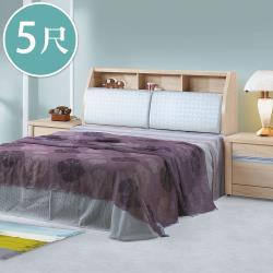 Boden-妮米5尺雙人床組(床頭箱+床底)