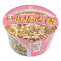 【味王】香菇肉焿湯碗麵(88g)