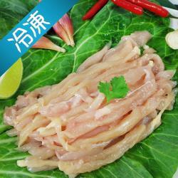 鮮凍溫體土雞-低脂雞肉絲600g±10%