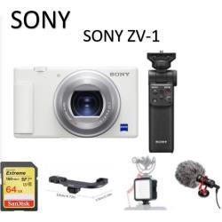 【新色-晨曦白】SONY ZV-1 套裝版 Vlog camera  影音 玩家組 公司貨