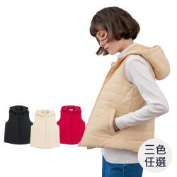 GIORDANO  女裝素色鋪棉連帽背心 (多色任選)