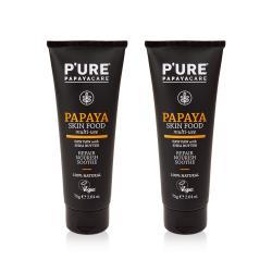 【澳洲Pure Papayacare】番木瓜皮膚養護滋潤萬用膏 2入組 75g/條