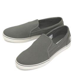 Timberland 男款中灰色休閒帆布便鞋A1UY5C24