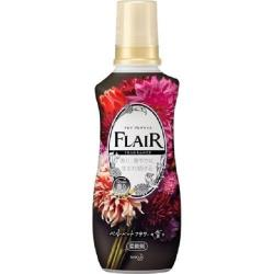 日本製花王kao FLAIR 石原聰美 香水衣物柔軟精540ml-鵝絨花香