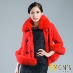 MONS奢華貴氣質感皮草外套