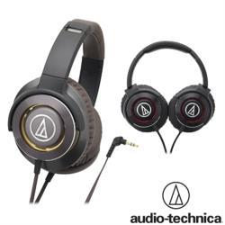 鐵三角 ATH-WS770 輝煌金屬重低音 耳罩式耳機【共2色】