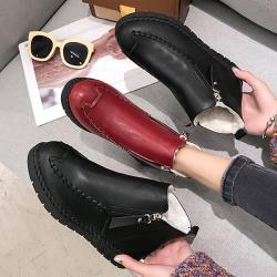 【Alice】 (預購)明星款透氣中短筒靴