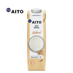 【芬蘭 AITO】 無糖原味燕麥奶1000ml(全素)