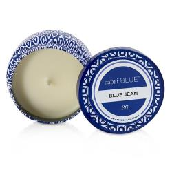 Capri Blue 旅行錫製香氛蠟燭 - Blue Jean Printed Travel Tin Candle - Blue Jean