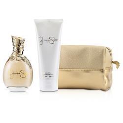 傑西卡 辛普森 王牌香水套裝: 香水噴霧 100ml/3.4oz + 身體乳 200ml/6.7oz + 化妝袋 2pcs+Bag