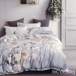 BEDDING-60支100%天絲四件式兩用床包組-白沙小徑(雙人)