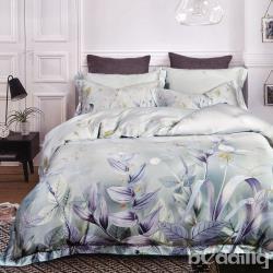 BEDDING-60支100%天絲四件式兩用床包組-月色正濃(加大)