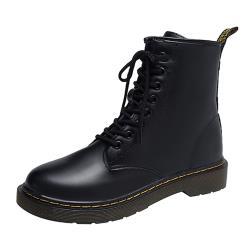 【Alice】 (預購)歐洲站舒適流線中短筒靴