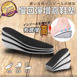 捕夢網-增高記憶鞋墊 增高墊 隱形鞋墊 內增高鞋墊 增高墊 後跟墊 減壓透氣 久站 可裁剪