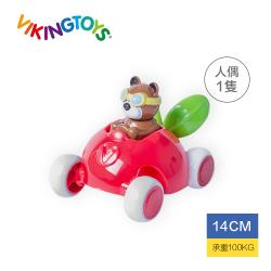 【瑞典 Viking toys】動物賽車手-貝兒草莓號-14cm 81367