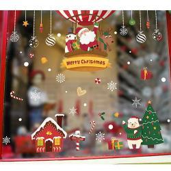 任-時尚壁貼 -聖誕熱氣球吊飾 HM92035ds