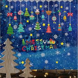 時尚壁貼 -彩色聖誕吊飾 AMJ903