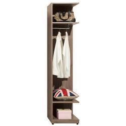 H&D 亞力士1.5尺轉角開放衣櫃