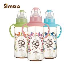 【小獅王辛巴】桃樂絲PPSU自動把手標準葫蘆大奶瓶3支組(320ml)