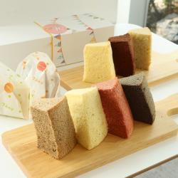 【七個小日子】娜娜的幸福旅程/戚風蛋糕禮盒/7種口味綜合