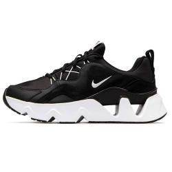 Nike RYZ 365 女鞋 休閒 鋸齒 老爹鞋 孫芸芸 增高 麂皮 拼接 黑【運動世界】BQ4153-003