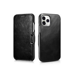 ICARER 復古系列 iPhone 12 Pro (6.1吋) 磁扣側掀 手工真皮皮套 保護殼 手機殼 側翻皮套 牛皮 皮革