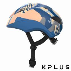 KPLUS SPEEDIE空力型彩色版 兒童休閒運動安全帽-耀眼藍