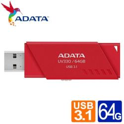 威剛 UV330/64GB USB3.2隨身碟(紅)