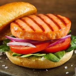 【美威】鮭魚漢堡排(90g*3片)