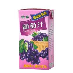 波蜜 葡萄汁300ml(6入)
