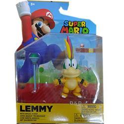任天堂 超級瑪利歐 4吋公仔W22 - LEMMY