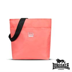 【LONSDALE 英國小獅】戶外休閒細尼龍輕量旅行小包 LD1192-粉紅