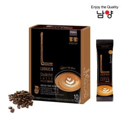 Namyang 韓國南陽乳業 雙倍濃縮拿鐵 LOOKAS 9 Double Shot Latte 10包入