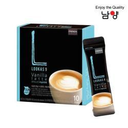 Namyang 韓國南陽乳業 LOOKAS 9 香草拿鐵 Vanilla Latte 10包入