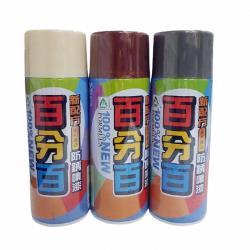 百分百噴漆 8195咖啡色 400ml 特殊漆 平光漆 亮光漆 專用漆 眾多色系 百分百防鏽噴漆 百分百防銹噴漆