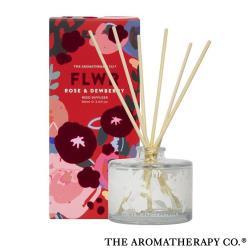 紐西蘭 Aromatherapy Co FLWR 系列 Rose  Dewberry 玫瑰野莓 90ML 室內擴香