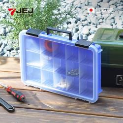 日本JEJ 日本製可調式分隔手提零件箱-15格