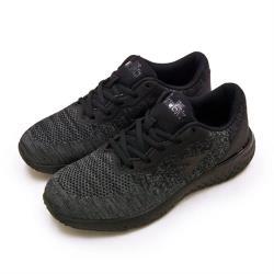 【DIADORA】男 迪亞多那 輕量飛織慢跑鞋 時尚輕跑系列(灰黑 7700)
