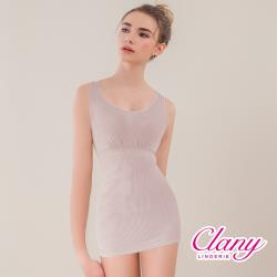 【可蘭霓Clany】寬肩輕機塑身M-3XL美體衣(優雅紫 1928-91)