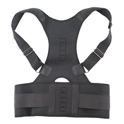 (JHS杰恆社)預購los0965跨境磁石成人矯正帶塑身坐姿拉伸彈身姿駝背糾正脊椎背部矯姿