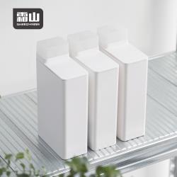 日本霜山 ABS可計量密封洗衣精/柔軟精分裝瓶-700ml-3入組