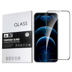 IN7 APPLE iPhone 12 Pro Max (6.7吋) 高透光3D滿版9H鋼化玻璃保護貼 疏油疏水 鋼化膜