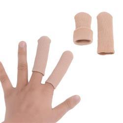 (JHS杰恆社)預購los0242閉口纖維護趾指套手指套腳趾外翻凝膠腳趾保護套