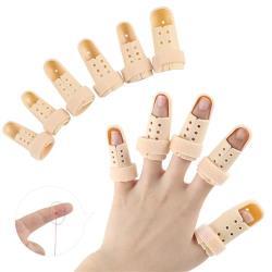 (JHS杰恆社)預購los0320男女固定手指套籃球護指伸肌腱斷裂手指關節脫位固定手指夾板護