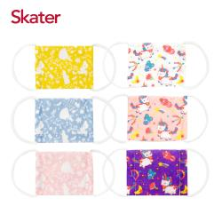 Skater幼兒紗布口罩-迪士尼公主+獨角獸