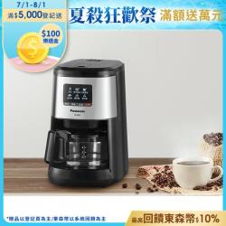 【Panasonic 國際牌】 四人份全自動雙研磨美式咖啡機 NC-R601 -庫O