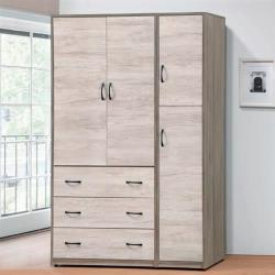 【AS】艾妮雅4.3×7尺衣櫥-130x57x202cm